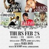 COMATOZE LIVE AT SOB'S / NYC FEB 28TH!