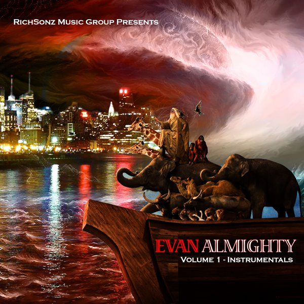 "E.R. Debuts His 1st Instrumental Album Titled ""Evan Almighty"""